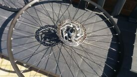 "Alex Wheels EX21, 700c / 29"" Wheels. Tubeless compaitible. Very Good Condition - Look!"