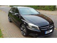 Mercedes Benz A CLASS - CDI SPORT A200 - LOW MILEAGE - Black - FSH