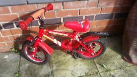 Firechief appolo child first bike for quick sale