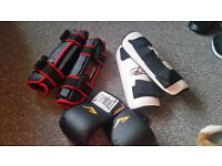 Kick boxing gear excellent condition !!!