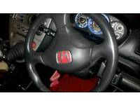 Honda civic type r ep3 steering wheel
