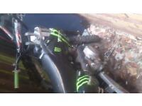 m2r racing 140cc pitbike!!!