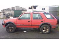 Vauxhall frontera 2.2. long mot. 5 door