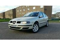 SEAT LEON 8 MONTH MOT 1.4 PETROL ONLY 90.000 MILES