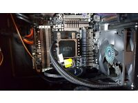 8 core (@4.71GHz each) watercooled, 24gb ram, ssd & hdd GTX970 GAMING PC Bundle