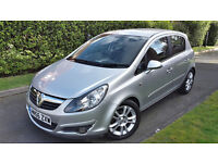 2006 VAUXHALL CORSA SXI 1.2 PETROL 5 DOOR,VERY LOW MILEAGE,ONLY TWO OWNERS