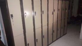 Gym Lockers - Steel - With Locks in Great Condition