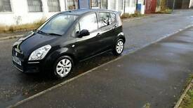 Suzuki splash 1.2petrol,5door hatchbcak black,very low mileage,full year mot