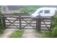 Double Garden Gates & Single Gate for Sale