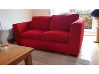Next home red sofa bed