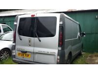 VAUXHALL VIVARO SILVER SHORT WHEEL BASE SWB 2700 DIESEL (like RENAULT TRAFFIC, NISSAN PRIMASTER)