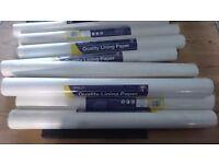 Lining Paper x 9 rolls