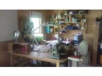 Jewellery Tools - Entire Content of Jewellery Making Studio as Job Lot. Includes Sales stand.