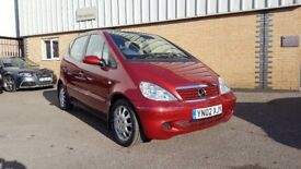 Mercedes A class LWB Low Mileage in really original condition and with history