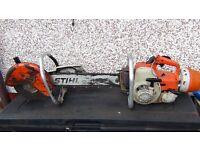 Stihl petrol chainsaw /concrete asw