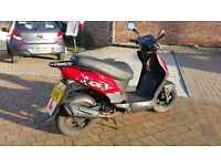 One year old Moped - one careful owner