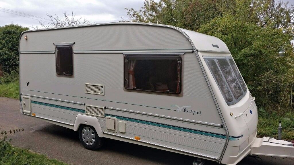 1997 BAILEY RANGER 2 BERTH CRIS REGISTERED END BATHROOM WITH AWNING