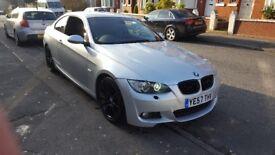 2008 57 BMW 320d M SPORT 177 BHP E92 COUPE not S3 R32 TYPE R 335d e60 e90 s line a3 a4 wrx sti evo