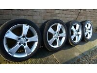 "4 x 17"" Mazda 3 Sport alloy wheels including tyres"