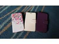 3 x samsung galaxy phone covers