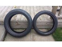 Dunlop Sportmax D212GP Pro tyres pair
