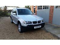 BMW X3 3.0 D SE Auto Silver 2006 Full BMW Service History & BMW Insured Warranty