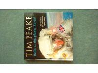 "Tim Peake. Brand new ""Hello, is this planet Earth?"" hardback book. Duplicate Xmas gift."