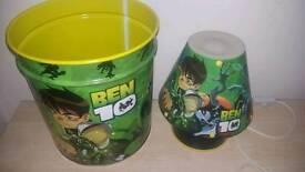 Ben 10 bin and lamp