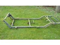 Reliant Robin chassis trike trailer oroject