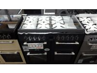 New graded leisure range cooker 100cm duel fuel with 12 month warrenty