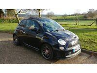 2013 (62) Fiat 500 Abarth 595 1.4 (160 BHP) T-Jet Turismo Auto 3dr Black