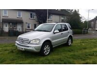 Mercedes-Benz ML 270 CDI AUTOMATIC 5 SEATS LOW MILES 122641k