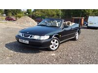 SAAB 9-3 S CONVERTIBLE++LONG MOT++ELECTRIC ROOF++LEATHER INTERIOR++