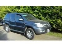 54 plate Toyota Landcruiser LC3 D-4D for sale