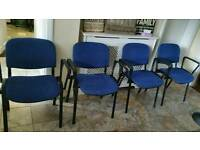 4 stackable chairs £10