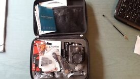 Unused Action Cam with case
