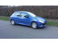 Peugeot 206 2.0 HDI DIESEL 2004 53 REG FIVE DOORS 1 YRS MOT £595