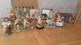 classic winnìe the pooh figurines by border fine arts