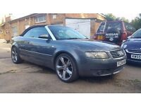 Audi A4 2.5Tdi Cabrio - Massive Spec - Red Leather