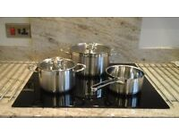 3 piece pan set by shulte and ufer