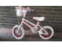 12 Inch Pink Girls Bike