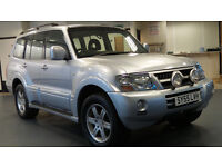 2005 MITSUBISHI SHOGUN 3.2 EQUIPPE WARRIOR LWB DI-D AUTO*PART EX WELCOME*FINANCE AVAILABLE*WARRANTY*