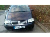 Vw sharan tdi ex private hire vehicle/good for export