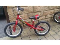 Kids bike, pedal-less balance bikes (2 available) Wee Ride come and get today!!