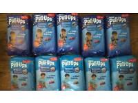 Huggies pull ups nappies / potty training pants