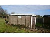 Garage prefab ( must collect and disassemble)
