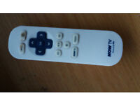 Now TV Remote Control and Power Lead