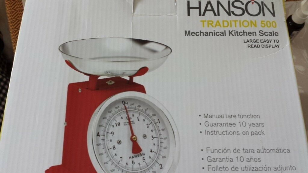 98970974539f3 Hanson kitchen scale. Plymouth ...