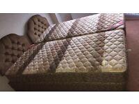 Slumberland Vintage 2 x single beds
