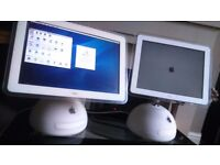 Apple Mac Imac G4 PC x 2 -Working and Good Condition